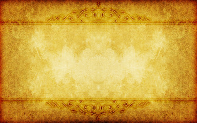 grunge paper background with vintage victorian style