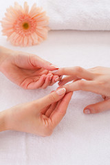 Massage for fingers.
