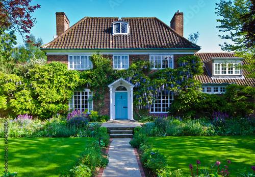 Leinwandbild Motiv English house