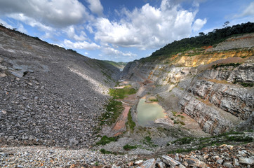 Open Pit Gold Mine, Africa