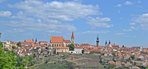 Blick auf die Stadt Znojmo