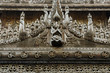 Wooden carving detail at Shwenandaw Kyaung Temple  in Mandalay,