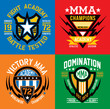 Fight Academy MMA emblems - 64547773