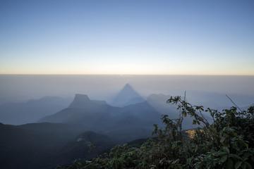 Adam's Peak at Sri Lanka