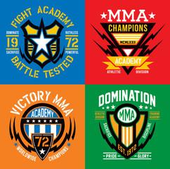 Fight Academy MMA emblems