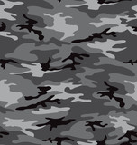 Fototapety Grey camouflage pattern seemless
