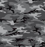 Fototapety Grey camouflage pattern seemless