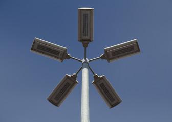 Fünfarmige LED-Straßenbeleuchtung