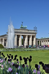 Brandenburgertor in Berlin