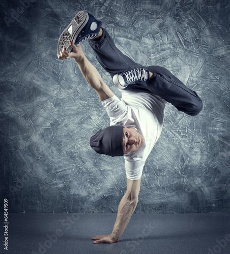 Aluminium Dance School breakdancer