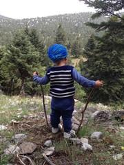 dağcılık sporu&minik dağcı