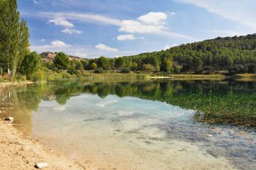 Santo Morcillo lagoon, Ruidera Natural Park, Castilla La Mancha
