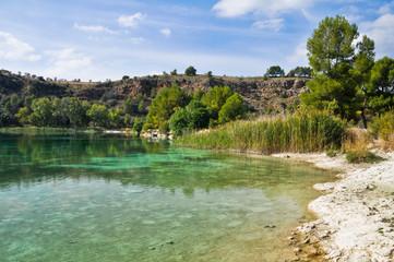Laguna Santo Morcillo, Parque de Lagunas de Ruidera, La Mancha