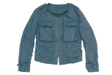 blue unisex jacket