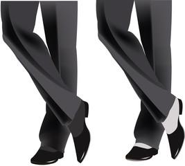 gambe da ballerino