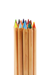 Bundle of big color pencils