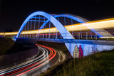 Blaue Brücke in Stuttgart Ostfildern