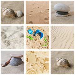 Composition plage