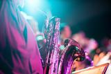 Fototapety Musik Konzert Event mit Saxofon