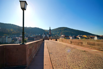 Historic city of Heidelberg. Germany.