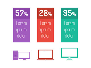 Technology Infographic Elements.