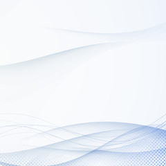 Blue folder abstract swoosh lines background
