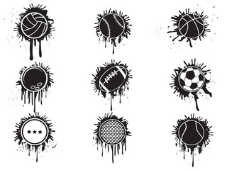 splatter balls icon