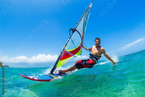 obraz lub plakat Windsurfing