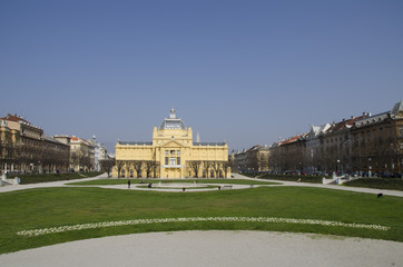 part of Zagreb