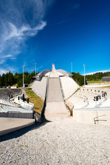 Holmenkolen Ski Jump at summer