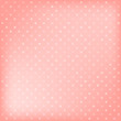 Cotton fabric Polka dot pink background