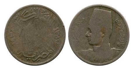 ten milliem, Egypt, shah Faruh, 1938