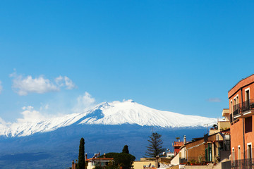 Taormina and Etna.