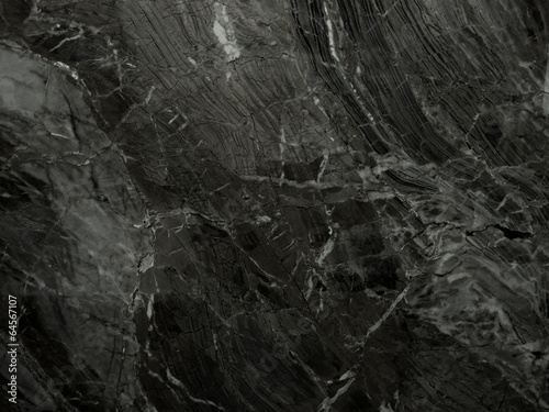 Spoed canvasdoek 2cm dik Textures Black marble texture (High.Res)