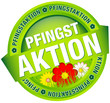 "Button Banner ""Pfingstaktion"" grün/rot"