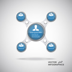 Presentation Infographics elements #2