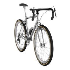 realistic 3d render of racing bicycle