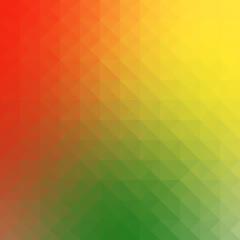 Geometric reggae background