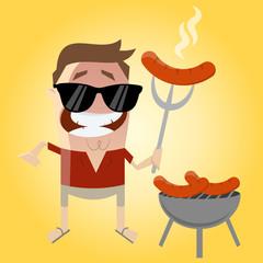 grillen urlaub grill wurst