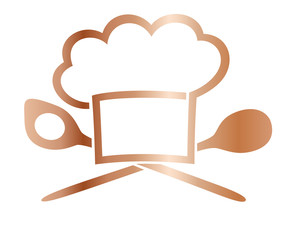 Küche - Goldsymbole