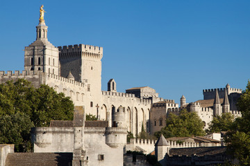 Medieval town of Avignon