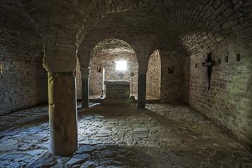 Krypta im Eremo della Transfigurazione bei Assisi
