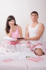 Newlyweds shocked by large amount of accounts
