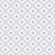 White and Pale Purple Fleur-De-Lis Pattern Textured Fabric Backg