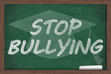 Stop Bullying Message poster