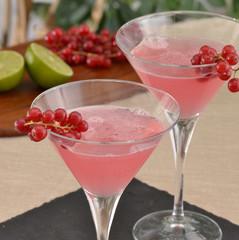 Coctel bebida alcohólica,frutas e ingredientes.licores