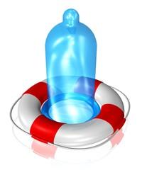 Kondome schützen die Gesundheit