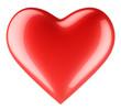 Love heart shape. Amour concept