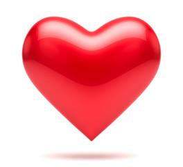 Love heart shape. Romantic concept