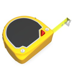 3d detailed tape measure